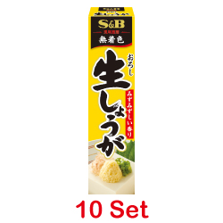 S&B Grated Raw Ginger Paste 40...