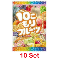 Ribon 10 Assorted Fruit Flavor...