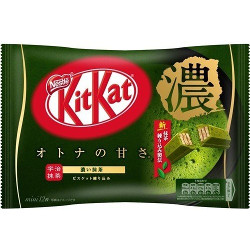 Nestle Kit Kat Mini Deep Adult Sweetness Matcha 12 Sheets